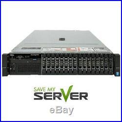 Dell PowerEdge R730 Server 2x E5-2640v3 2.6GHz 8C 64GB H730 2x Trays