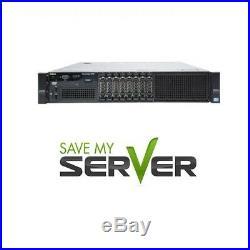 Dell PowerEdge R820 40-Core SFF Server E5-4650 V2 2.4GHz 512GB RAM 6TB Storage