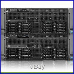 Dell PowerEdge R910 Server 32 Cores 128GB RAM 2x 250GB SSD 2x 1TB HDD