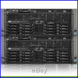 Dell PowerEdge R910 Server 4x 2.26GHz X7560 32 Cores 64GB RAM H700 RPS + 4 Trays