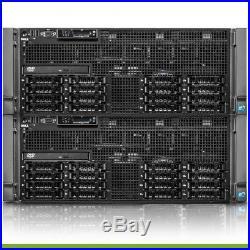 Dell PowerEdge R910 Server 4x E7540 2.00GHz 6-Core 128GB RAM 2x 300GB SAS