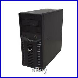 Dell PowerEdge T110 II Server 4-Core 3.10GHz E3-1220 16GB RAM 1x 250GB 3.5 SATA