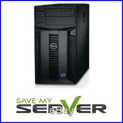 Dell PowerEdge T310 Tower X3430 2.4GHz 16GB RAM PERC6i 4x 1TB HDD