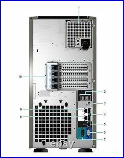 Dell PowerEdge T340 Server 32GB RAM RAID 3.4GHz Xeon E-2224 Quad Core NEW