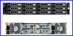 Dell PowerVault MD1200 Storage Array Dual Controller Dual PSU + caddies