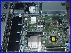 Dell Poweredge R510 1x 2GHz Xeon DC E5503 12GB 3x 4GB 2x 500GB Server with Rails