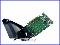 Dell SSD M. 2 PCIe x4 Solid State Storage Adapter Card TX9JH PHR9G 6N9RH 80G5N