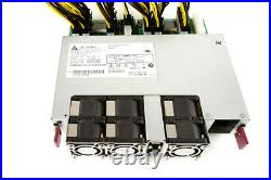 Delta 2400W PSU Power Supply DPS-2400AB with Breakout Boards + 18 Cables Fast