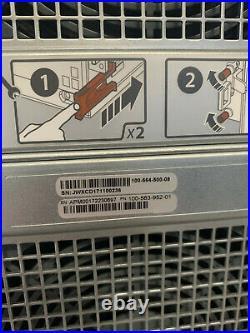 EMC CYAE DS60 4U 60 Bay LFF SAS3 12Gbs JBOD Storage Expander Rail Caddy 2PS