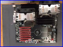 EVGA Classified, 270-WS-W555-A2 Dual Processor mb with 2 x E5645 CPUs & 0GB RAM