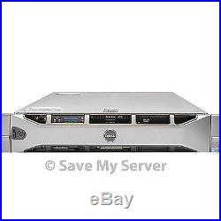 Enterprise Dell PowerEdge R710 8-Core Server 72GB RAM 12TB