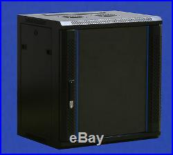 FLAT PACK 6U Data Wall Cabinet 450mm depth server rack 19inch server 36cm H