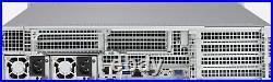 FREENAS ZFS Server 2U 12 Bay SYS-6028U-SAS3 X10DRU-i+ 2x E5-2650 V3 64GB RAM HBA
