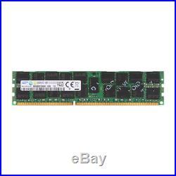 For Samsung 32GB 4x16GB 2Rx4 PC3-14900R DDR3-1866Mhz ECC Registered Server RAM