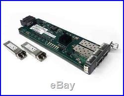 Force10 S60-44T-AC 48 Port Switch 2x 10Gb SFP+ GP-10GSFP-1S 2x PSU 4 Post Rails