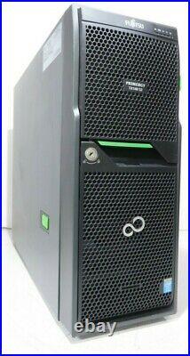 Fujitsu Primergy TX140 S2 Tower Server Quad-Core E3-1230v3 16GB Ram 2x 500GB HDD