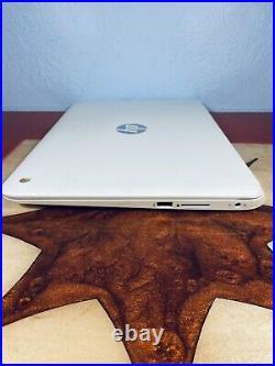 HP Chromebook G1 14 Intel Celeron Dual Core, 1.4GHz, 4GB, 16GB SSD White