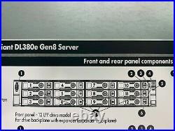 HP DL380 G8 14xLFF 2x E5-2420 12Cores 24 Threads 96Gb DDR3 + 8Tb SAS SERVER
