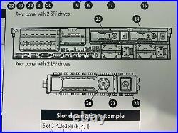 HP DL380e G8 14 DISCOS 2x E5-2450L 16Cores 32 Threads 48Gb DDR3 + 8Tb SAS SERVER