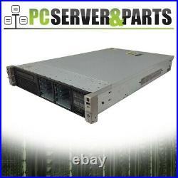HP DL380p Gen8 G8 2x 6 Core E5-2630 2.3GHz/No Memory/No HDD/2x Power Supply