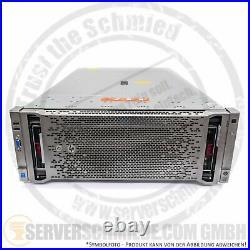 HP DL580 G8 Gen8 19 4U 5x 2,5 SFF 4x Intel XEON E7-4800 v1 v2 DDR3 ECC 4x PSU