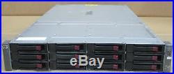 HP MSA60 Modular Smart Array 2U 12 SATA Bays 1x SAS I/O Module 399049-001