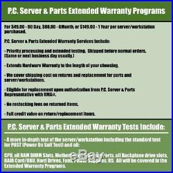 HP PROLIANT DL360p GEN8 G8 2 x SIX CORE 2.00GHZ E5-2620 8GB 530FLR SERVER RAILS