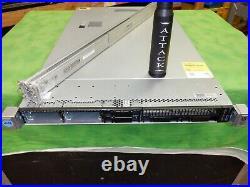 HP ProLiant DL360G9 Server 2X E5-2620v3 12 Cores 2.4GHz 32GB H240ar Rails #10