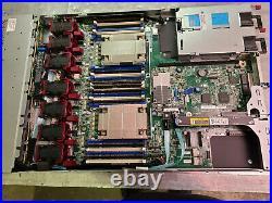 HP ProLiant DL360G9 Server 2X E5-2620v3 12 Cores 2.4GHz 32GB H240ar Rails @10