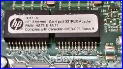 HP ProLiant DL360p G8 Server Dual Xeon E5-2640 6 Core 2.5GHz 16GB Rails NO HD NV