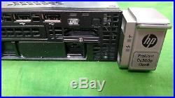 HP ProLiant DL360p G8 Server Dual Xeon E5-2640 6 Core 2.5GHz 16GB Rails NO HDD
