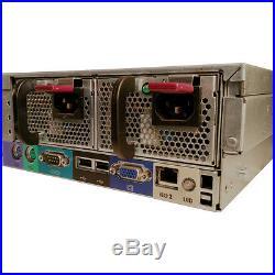 HP ProLiant DL380 G5 Server Dual Xeon L5410 2.33GHz QC 8GB 2x 73GB RPS RAILS