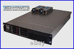 HP ProLiant DL380 G7 2x 2.4Ghz 8-Cores 128GB RAM 4x 146GB HDD 2x Power 2U Server