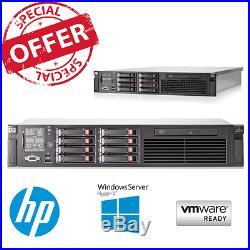 HP ProLiant DL380 G7 2x E5620 2.40GHz 4 core CPU 24GB RAM P410i 2 x 146GB HDD