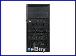 HP ProLiant ML10 v2 Tower Server System i3-4150 3.5 GHz 8 GB RAM 500GB SATA 7.2K