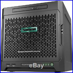 HP ProLiant MicroServer Gen10 Ultra Micro Tower Server 1 x