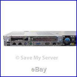 HP Proliant DL360 G6 Server 2x E5530 2.4GHz QC 8GB 2x 73GB HDD P410i