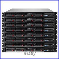 HP Proliant DL360 G6 Server Dual Xeon X5570 QC 2.93GHz 24GB 4x 146GB DVD 1PS