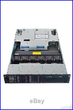 HP Proliant DL380 G6 Server Dual X5550 QC 2.66GHz 32GB 2x 146GB P. 410i DVD RPS