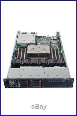 HP Proliant DL380 G6 Server Dual Xeon E5540 QC 2.53GHz 16GB 2x 500GB DVD RPS
