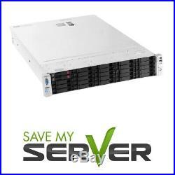 HP Proliant DL380e G8 Server 2x E5-2430v2 12 Cores 48GB P420 8x1TB SSD