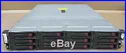 HP Storageworks D2600 2U 12 x 3.5 SAS Bays 2x SAS I/O Controller AJ940-63002