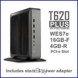 HP T620 Plus+ WES7e Thin Client Quad Core GX-420CA 2GHz 16GB-F 4GB-R F5A61AA#ABA