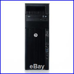 HP Z620 Workstation 2x Xeon E5-2603 1 8GHz 4GB 250GB Win 7 Pro 1 Yr