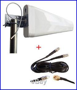 Huawei B890 4G LTE Smart Hub wide band Log Periodic external yagi antenna