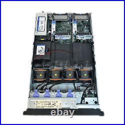 IBM 7915-ac1 X3650 M4, 2 X E5-2609 2.4, 12gb, Dual Nic, Dual 750w Psu, Raid