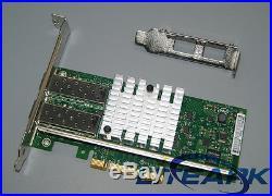INTEL X520-DA2 E10G42BTDA Dual 10G High PCIE SFP+ with 2x DAC Direct Attach Cable