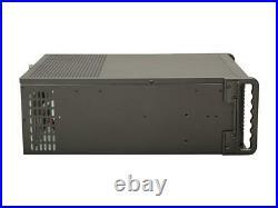 IStarUSA D-407PL Black Steel 4U Rackmount Compact Stylish Server Case