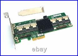 Intel Expander for HDD SSD RES2SV240 PCIe x8 6G SAS SATA 24 Port E91267-203
