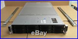 Intel H2312JFKR 4 Node Servers 8 x Six-Core XEON E5-2620 128GB 2U Rack Server